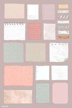 Bullet Journal Writing, Bullet Journal Aesthetic, Bullet Journal Ideas Pages, Bullet Journal Inspiration, Journal Stickers, Planner Stickers, Paper Background Design, Note Doodles, Digital Journal