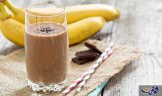 مشروب الشوكولاتة والموز لحرق دهون البطن: المقادير 1 اشخاص  2 ملعقة كبيرة من الكاكاو  نصف كوب من الحليب خالي الدسم  نصف ثمرة موز…