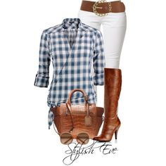 Plaid Tunic :)
