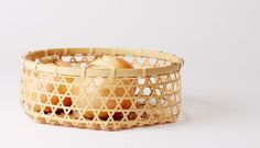 Large Round Bamboo Basket