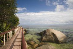 #Seychelles, Praslin Island Portraits, Seychelles, Outdoor Furniture, Outdoor Decor, Garden Bridge, Hammock, Passion, Outdoor Structures, Island