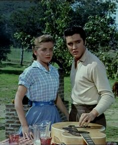1957 ~ Loving You ~ Elvis and Dolores Hart