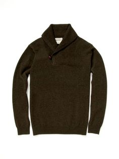 Shawl Collar Cashmere Sweater by Dartmoor on Gilt.com