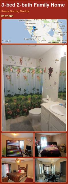 3-bed 2-bath Family Home in Punta Gorda, Florida ►$127,000 #PropertyForSale #RealEstate #Florida http://florida-magic.com/properties/13575-family-home-for-sale-in-punta-gorda-florida-with-3-bedroom-2-bathroom