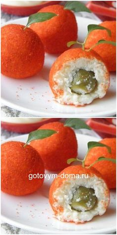 Beautiful idea: a cheese snack for the festive table - Lecker-lecker - Recetas Vegetarian Recipes, Cooking Recipes, Healthy Recipes, Appetizers For Party, Appetizer Recipes, Food Plating Techniques, Good Food, Yummy Food, Catering Menu