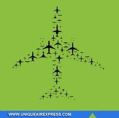Different ways of Air Transport in Unique Way. #Unique #AirCargo #Courier