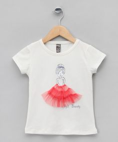 White Girl with Tutu Tee - Infant, Toddler & Girls by Cigit on #zulilyUK today!