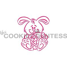 Stencil Easter PYO Cookies