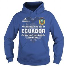 I Love  Ecuador  Shirt; Tee