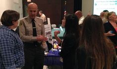 Sheriff Baca talks to the public at the Inmate Family Community Program