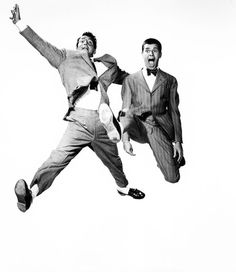 Dean Martin and Jerry Lewis, 1950s. How I love these men!