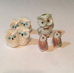 Your place to buy and sell all things handmade Vintage Pottery, Vintage Ceramic, Etsy Vintage, Vintage Decor, Vintage Easter, Vintage Christmas, Bright Blue Eyes, Wise Owl, Ceramic Decor