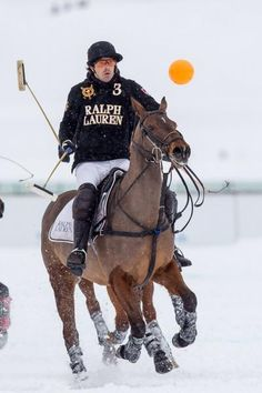 St Moritz World Cup Polo on Snow - Nacho Figueras
