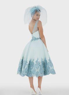 "Matthew Christopher Couture ""Juniper"" Gown"