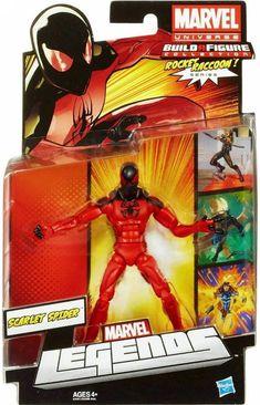 Hasbro Marvel Legends (Rocket Racoon) Scarlet Spider