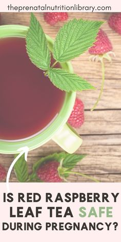 You might have heard that consuming red raspberry leaf tea during pregnancy can reduce the length of labor. You may wonder if this is safe, and if so, will it actually work? Read this article to learn more about raspberry leaf and see if it can actually reduce the duration of labor! #redraspberryleaftea #teaduringpregnancy #raspberryleafteaforpregnancy #pregnancy #laboradvice Red Raspberry Leaf, 3rd Trimester, Never Too Late, Nutrition Tips, Vitamins And Minerals, Pregnancy, Leaves, Third Trimester, Pregnancy Planning Resources