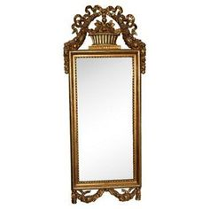 Check out this item at One Kings Lane! 19th-C. French Louis XVI Giltwood Mirror
