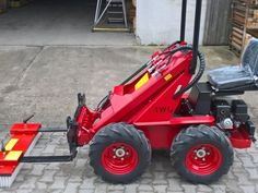 Small Tractors, Compact Tractors, Tools And Equipment, Heavy Equipment, Powered Wheelbarrow, Moving Trailers, Atv Implements, Trailer Dolly, Homemade Tractor