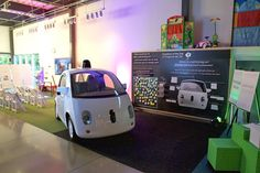 Google's self-driving car (aka the koala car) in an Austin startup
