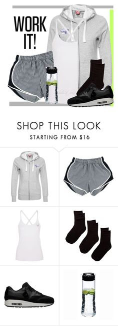 """""""Work Out II"""" by boho-at-heart ❤ liked on Polyvore featuring Puma, Lucas Hugh, Hue, NIKE and Riedel"""