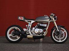 "Suzuki GT550 Cafe Racer ""Honduki""     Motohangar is a custom motorcycle workshop based out of Vienna, Virginia."