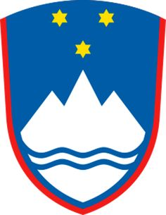 Slovenia State Symbols, Song, Flags and Map Of Slovenia, Blue Shield, National Animal, Flags Of The World, Family Crest, Central Europe, My Heritage, Coat Of Arms, Badge