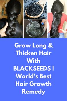 Grow Long & Thicken Hair With BLACKSEEDS | World's Best Hair Growth Remedy Today I will tell you how can all of us get long thick hair with world's best natural remedy For this remedy you will need 3-4 spoon kalonji seeds 2 spoons of honey 1 spoon yogurt Preparation part: Take 3 -4 spoons of kalonji seeds in a clean bowl Soak them in water for 1 …