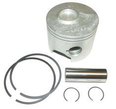 WSM Mercury 175-225 Hp Looper Port 2.4 Liter Platinum Piston Kit 100-10PK