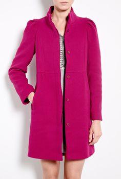 Puff Shoulder Coat by Vanessa Bruno Athe