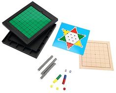 6 in 1  24 player ABS Plastic Magnetic Travel Game Reversi  Chinese Checkers  7 lines Go Game  GomokuNarabe  Ludo Game  Nip ** Continue to the product at the image link.
