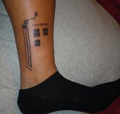 tattoo idea, deep thoughts, tattoos, doctor who, doctors, a tattoo, tardis, tardi tattoo, ink