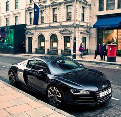 Beautiful black #R8color | #Audi #R8