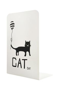 fun bookends for the study,  office,  kitchen, kids rooms with a cat theme