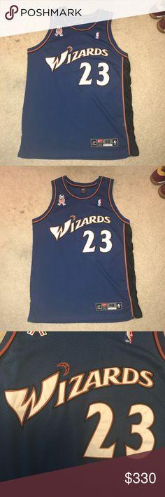 6b6534c63 Michael Jordan Washington Wizards Nike Jersey Michael Jordan Washington  Wizards Vintage Nike NBA basketball jersey.