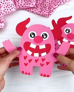 Love Monster Craft For Kids