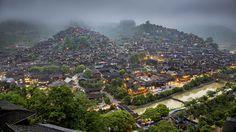 Xijiang Miao Village by William Yu on 500px Asia, China, Guizhou, Xijiang Miao Village