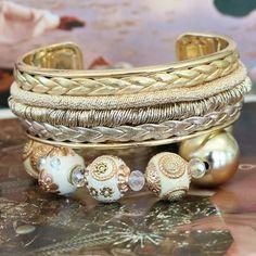 Maak hippe sieraden van trendy draad met een metallic look!!!