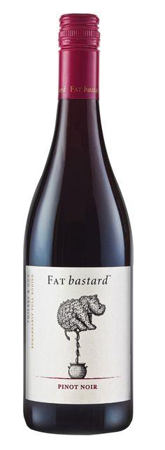 Fat Bastard Wine Label Illustrations by Steven Noble on Behance Wine Bottle Design, Wine Label Design, Wine Bottle Labels, Beer Label, Pinot Noir Wine, Wine Vineyards, Wine Brands, Wine Packaging, In Vino Veritas