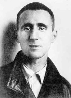This is Bertolt Brecht, a modern playwright.  Brecht is known for his theories of Epic Theater and his interest in the use of theater as a medium for social analysis.