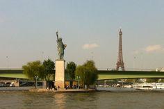 Statue de la Liberté - Javel - パリ, Île-de-France