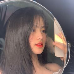 Crazy Girls, Pretty Girls, Cute Girls, Ulzzang Girl Selca, Ulzzang Korea, Girls Mirror, Cute Girl Poses, Cute Girl Face, Aesthetic Pastel Wallpaper