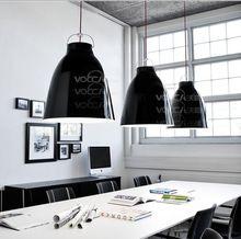 Free Shipping One light New Modern Lamp Black Shade Dining Room Master Of Interior Design Pendant Light(China (Mainland))