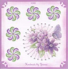 YBB 1048 Paarse bloemen