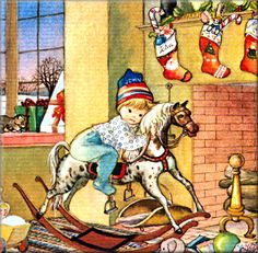 Baby's First Christmas ~ Eloise Wilkin