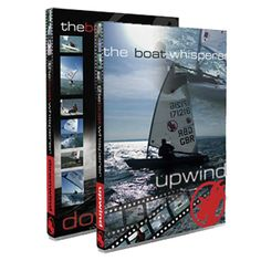 The Boat Whisperer DVD Set: Upwind and Downwind, by Rooster Sailing Perfect for Laser sailors, This Upwind and Downwind DVD set brings Steve Cockerill's Boat Whisperer concepts to life with hours of high quality video taken from onboard and chase boat cameras. You'll feel like you're in the heat of the action with masthead and transom mounted cameras capturing the exciting footage of three sailors venturing out at Stokes Bay in 25-35 knots. Steve Cockerill's concepts have been proven…