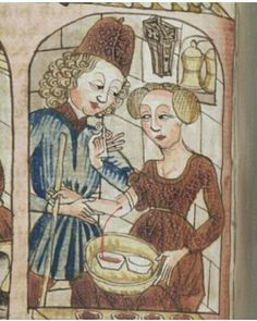 Early Modern Period, Late Middle Ages, Phlebotomy, Apothecaries, Medical Art, 14th Century, Roman Empire, Monograms, Utensils