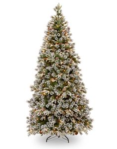 real christmas tree | 5ft Pre-lit Liberty Pine Decorated Feel-Real Artificial Christmas Tree