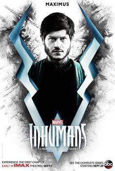ABC e Marvel Television divulgaram três cartazes de personagens da série Os Inumanos, que terá seus dois primeiros episódios exibidos em salas IMAX dia 1º de setembro, antes da estreia na rede ABC …