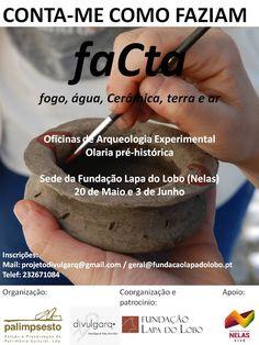 Outeiro do Circo: Projecto faCta em Nelas a 20 de Maio e 3 de Junho