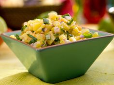 Pineapple-Ginger-Habanero Salsa recipe from Bobby Flay via Food Network